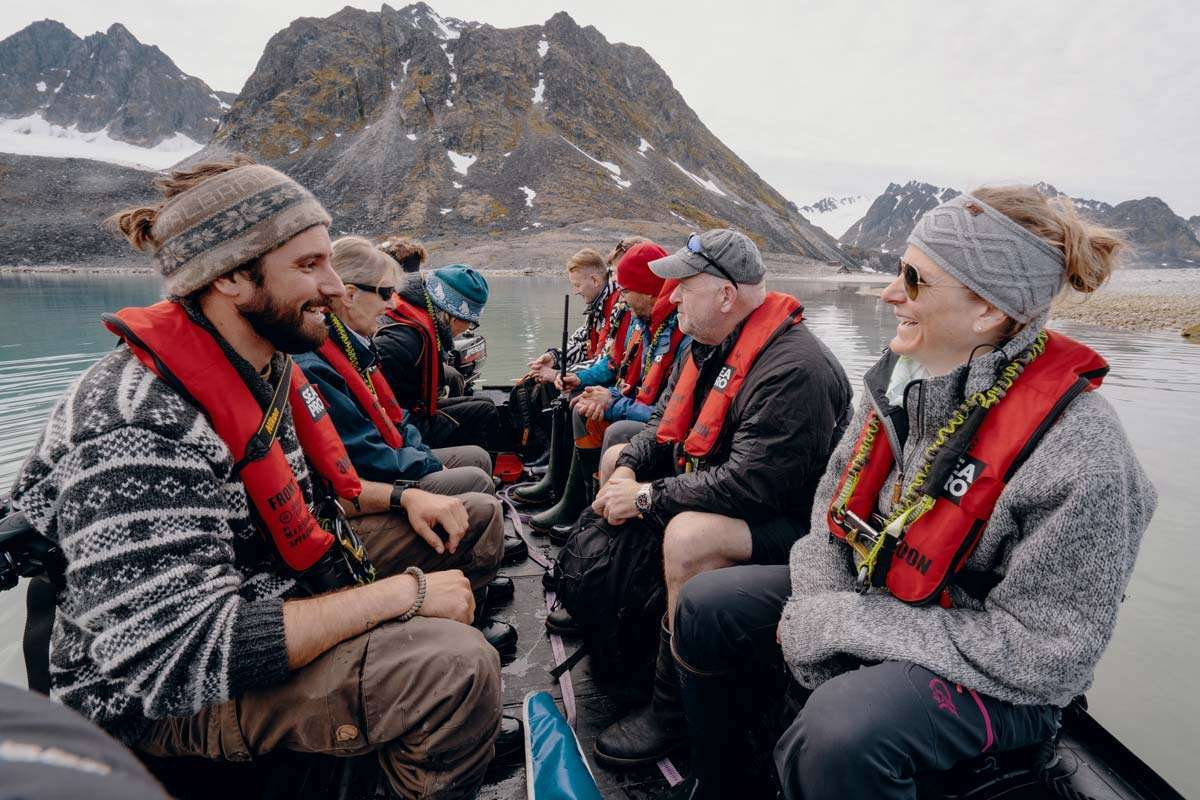 small ship cruises in svalbard