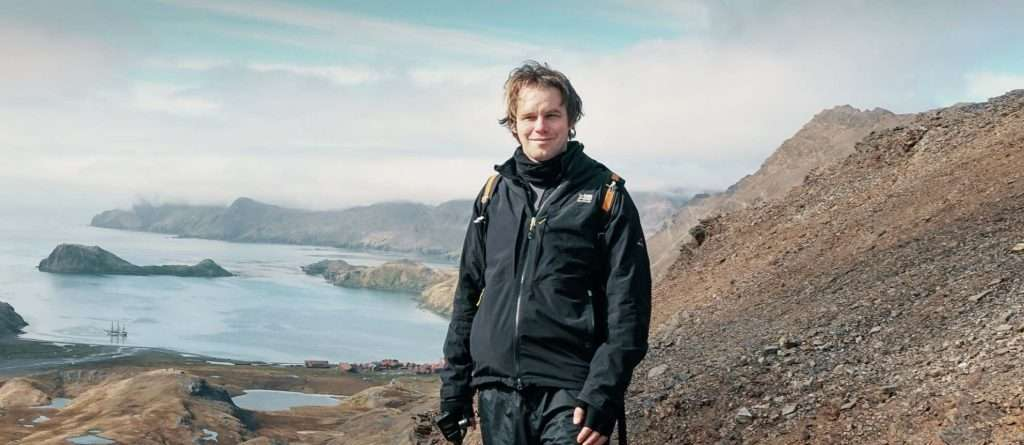 andy marsh on south georgia island