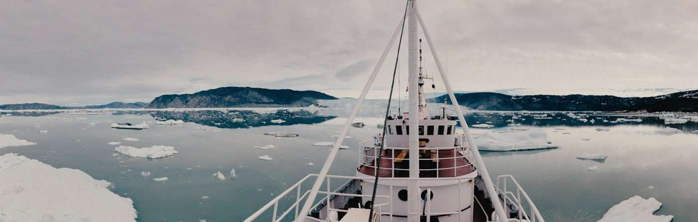 arctic cruise on a small expedition vessel