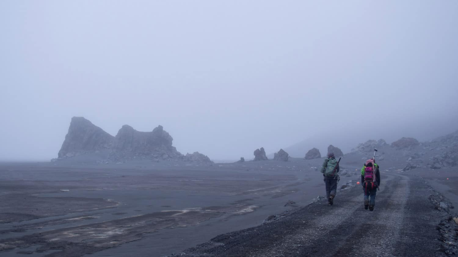 jan mayen hiking expedition