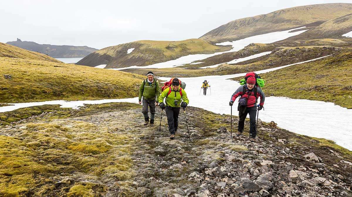 jan mayen hiking