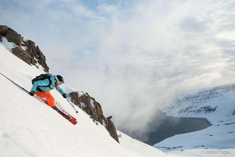 iceland skiing and sailing