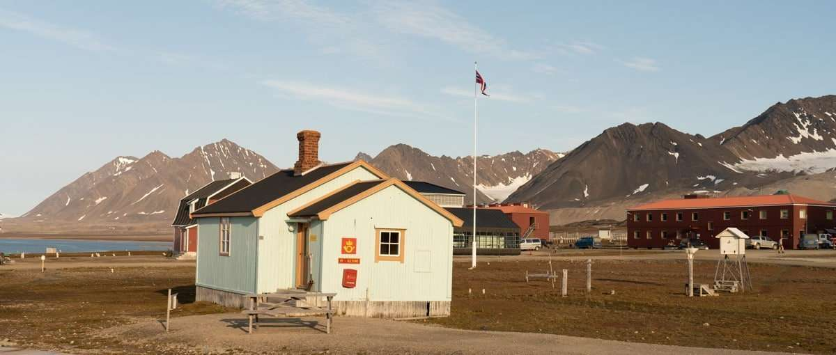 worlds most northerly post office in Svalbard