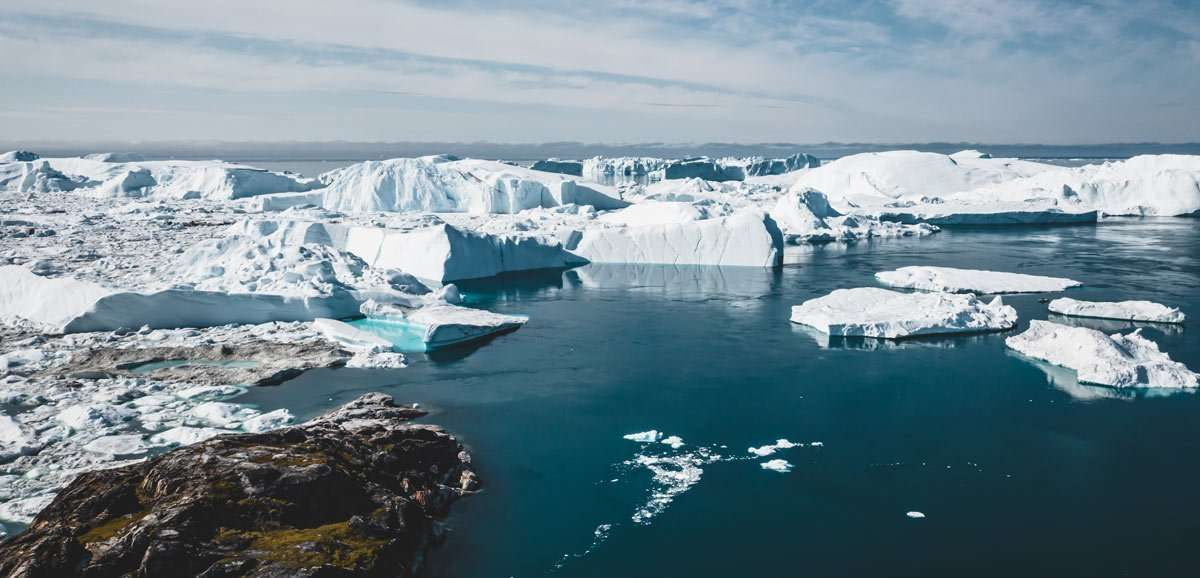 cruise to greenland ice fjord