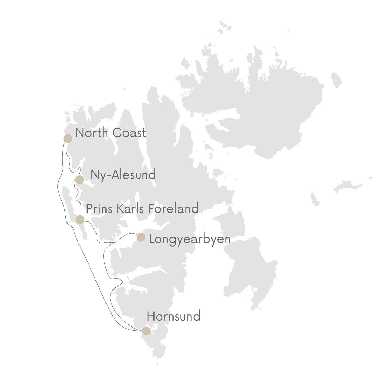 svalbard cruise map secret atlas
