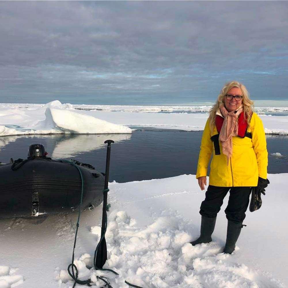 micro cruise in the arctic
