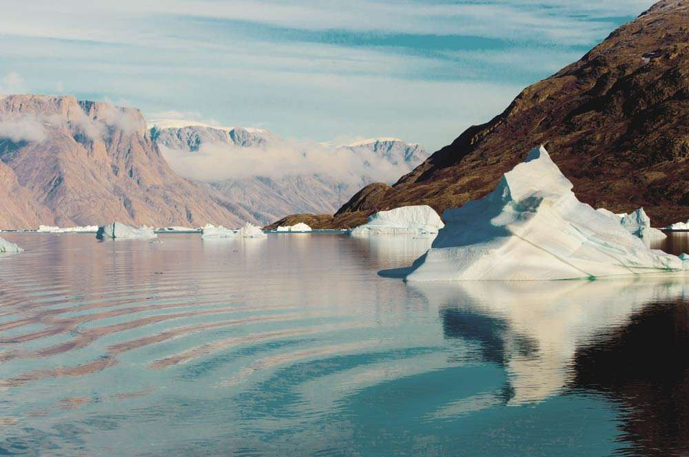 expedition cruise in greenland