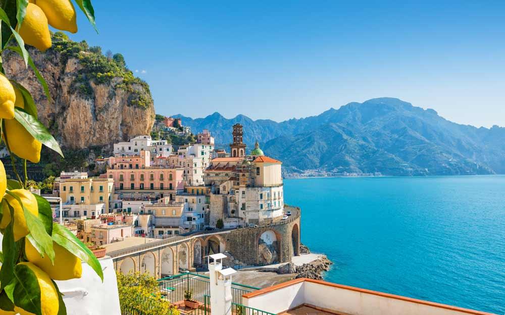 Amalfi coast Italy Europe
