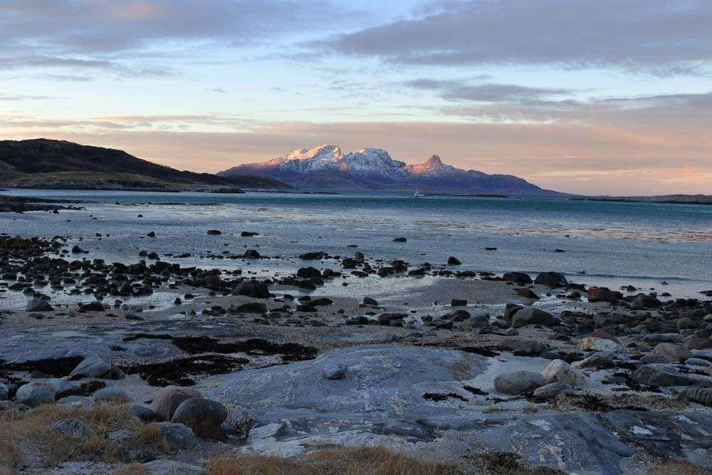 Mjelle Beach Bodo Norway