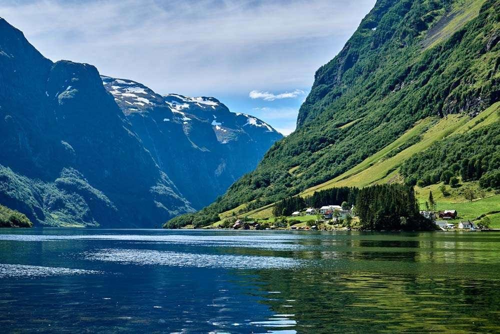 Naroyfjord Norway