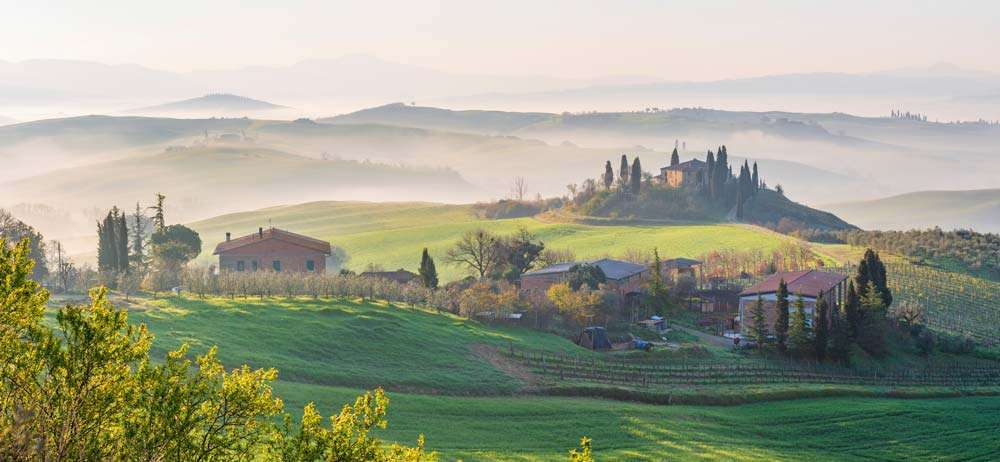 The Val D orcia Italy